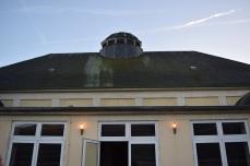 Dach von der Terrasse aus