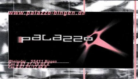 Eintrittskarte aus 2001
