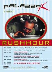 Flyer Monatsprogramm Mai 2001