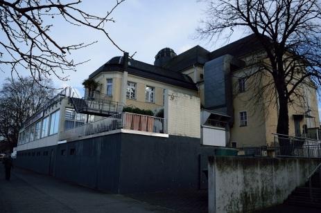 Alte Stadthalle / Festhalle / Palazzo Rückansicht