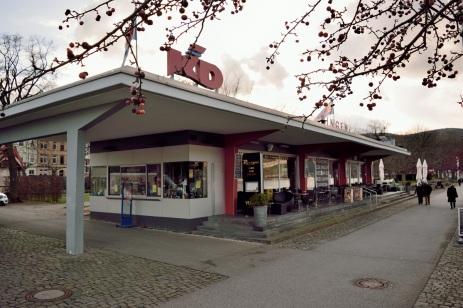 """KD-Pavillon mit Lokalität """"Riverside"""""""