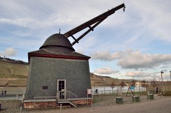 Der alte Rheinkran - erstmals erwähnt 1487, dieser Bau wohl von 1787