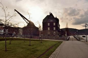 Zollamt & historischer Rheinkran