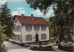 Das Forsthaus im Jahr 1970 (mit Genehmigung von Hendrika Sonntag / www.kaltnaggisch.net )